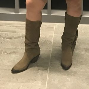 Kacey for Lucchese fringe boots
